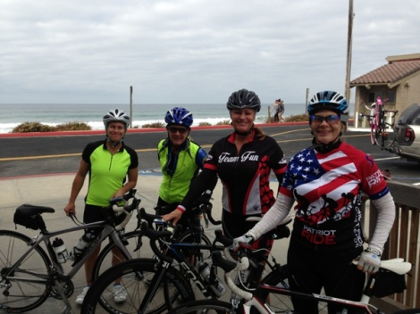 Team Fun near Torrey Pines