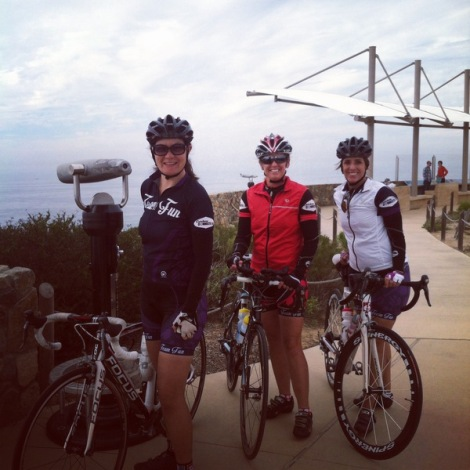 Christa, Julie and Denise at Cabrillo