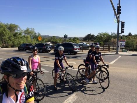 Team Fun @ 76/North Santa Fe - ready to tackle Lilac!