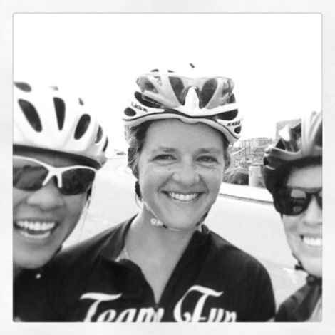 Still smiling following ascent #3 - Soledad Mountain Road