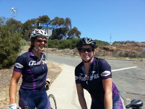 Heather and Jill at Via Casa Alta