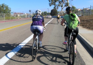 Kim & Luanne on Vandergrift Blvd in Camp Pendleton.