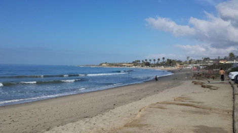 San Onofre State Beach. Good place to stop for a snack.