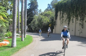 Coming down the twisty fun that is Serpentine Dr in Del Mar.