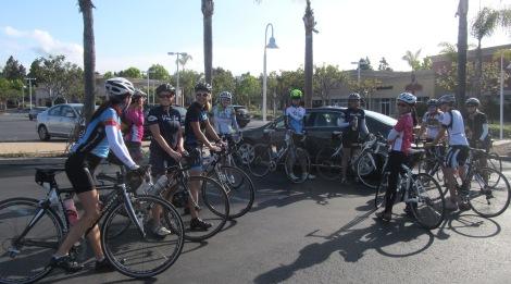 Fun gals looking forward to a fun ride!