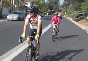 Suzanne & April enjoying SR56 path through