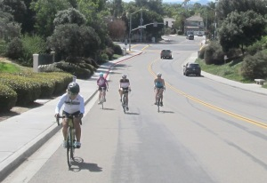 C group, racing my lengthening nose up another climb on Ambrosia Dr.