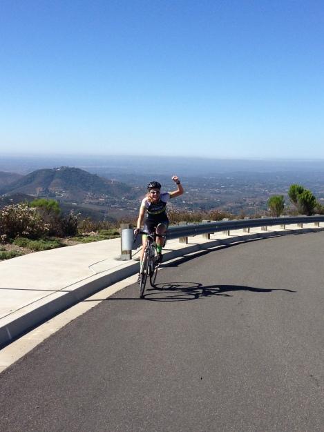 Shannon completes Double Peak.